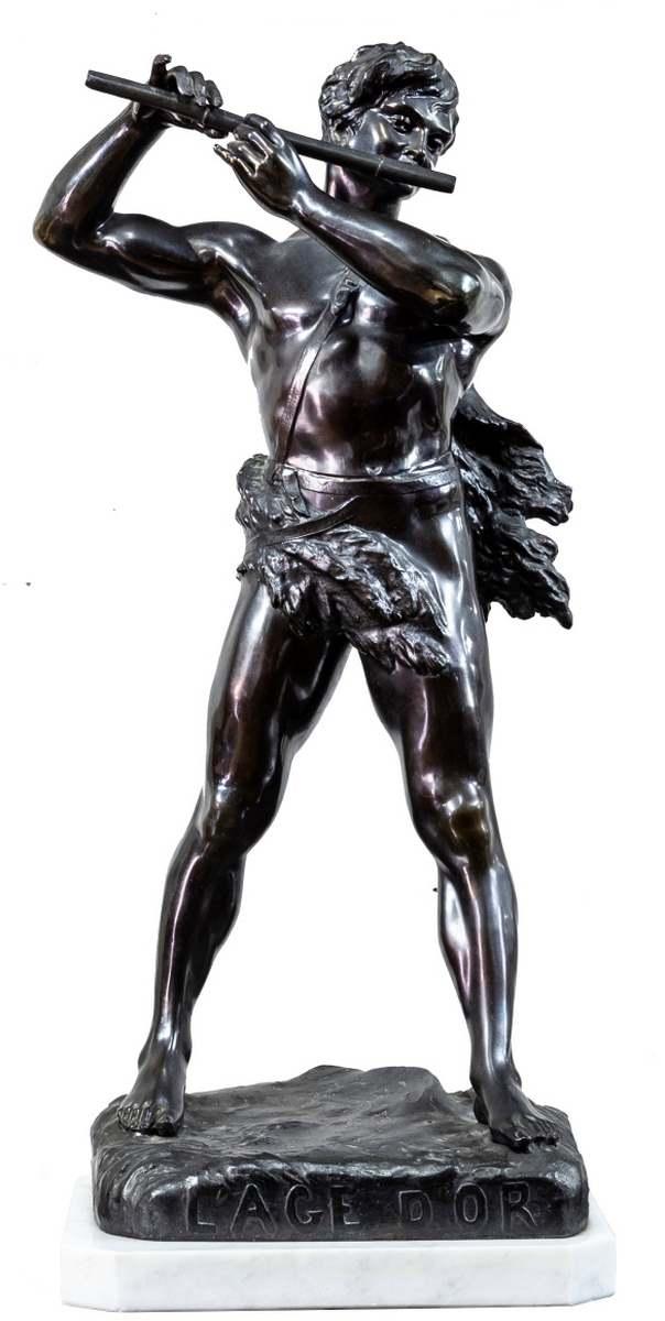 Scultura, antimonio, Italia, primi Novecento