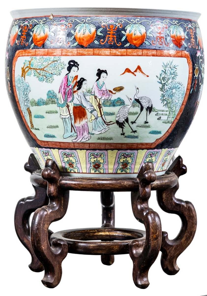 Vaso cinese, primi Novecento