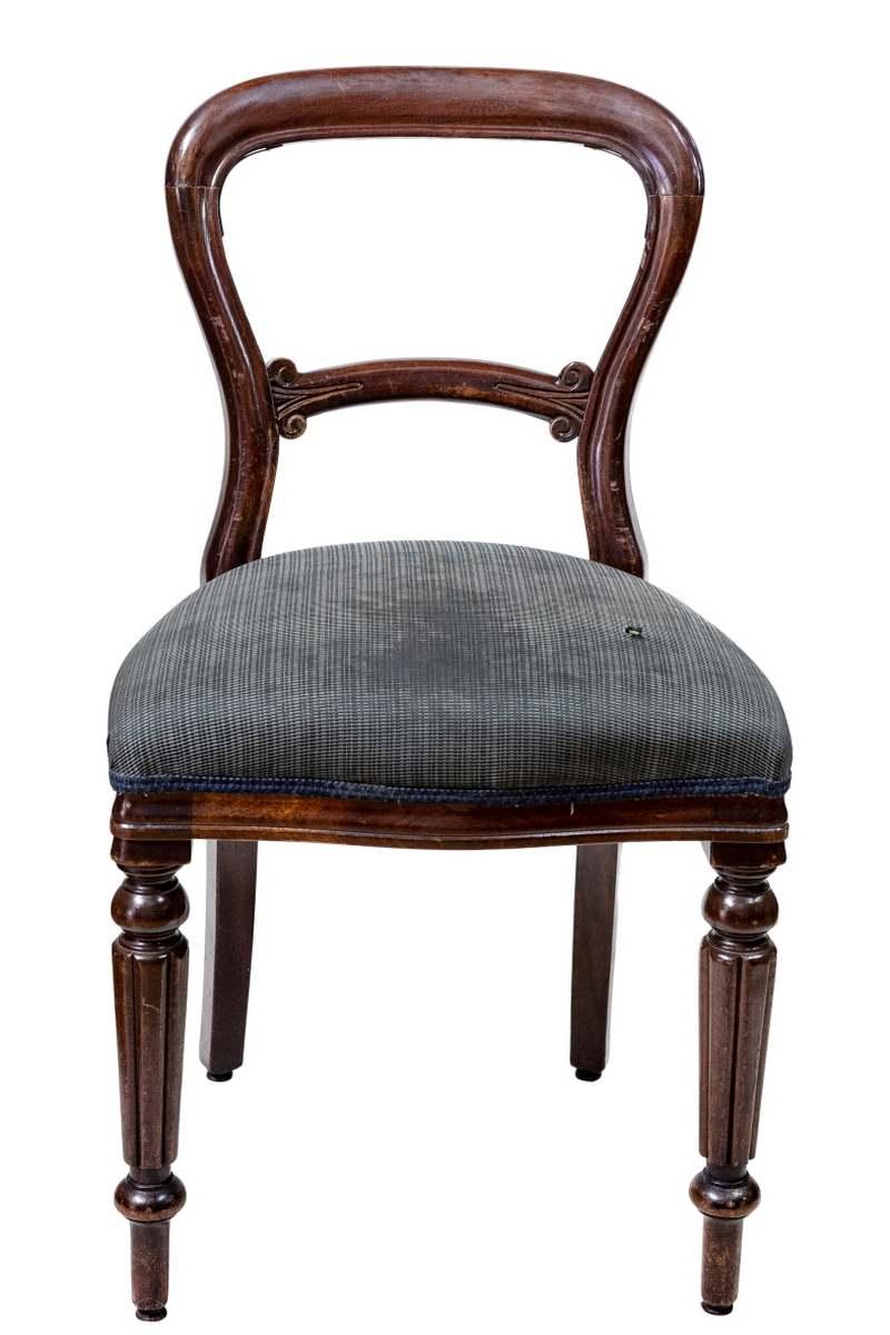 Set sedie Vittoriane