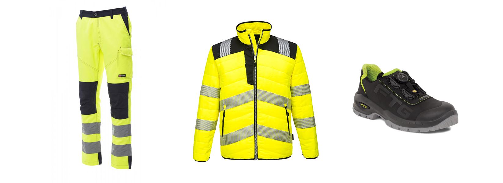 Vendita abbigliamento da lavoro Erre & Bi Distribuzione di Bruno Angela