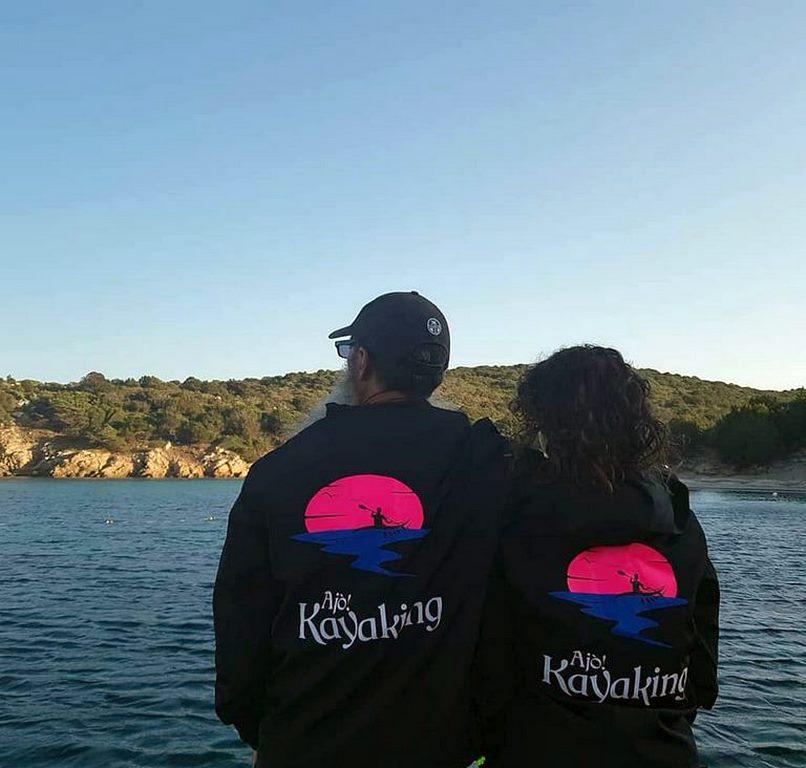 I titolari di Ajò Kayaking