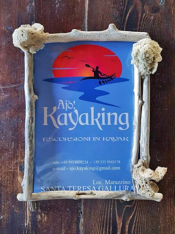 Opuscolo Ajò Kayaking