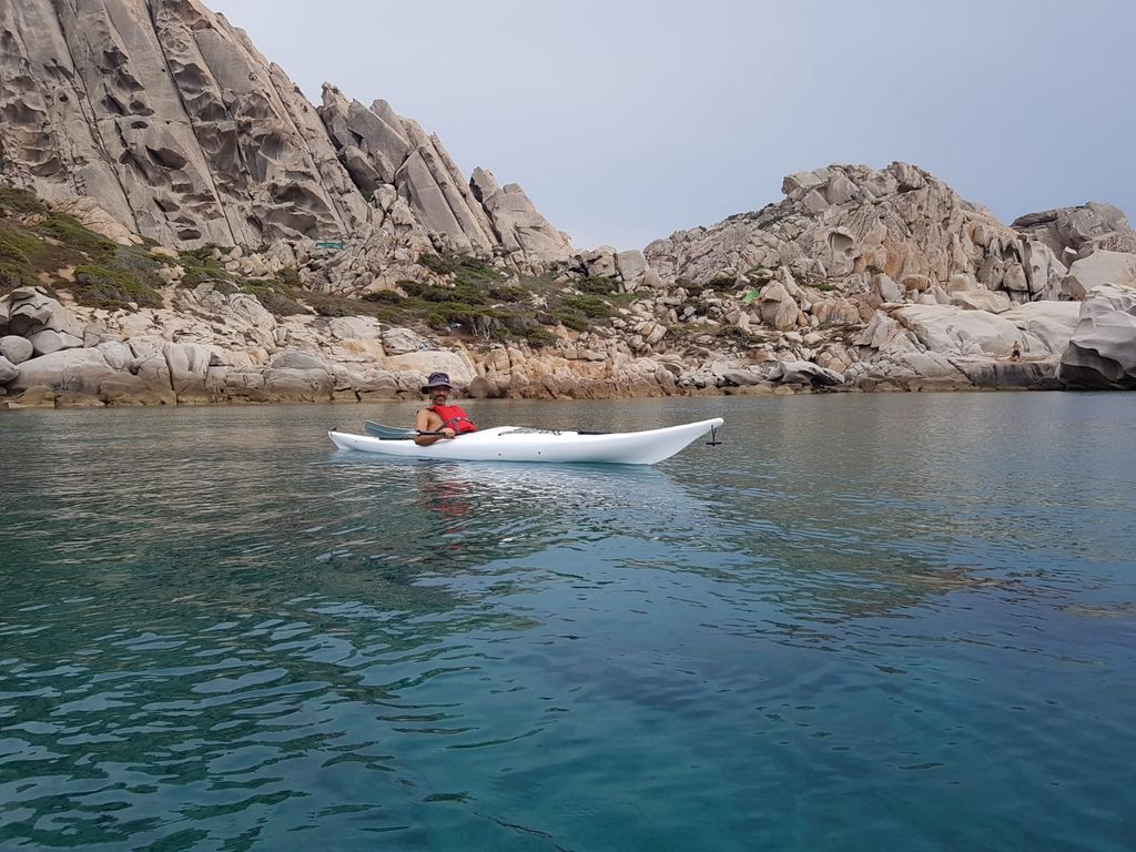 Ajò Kayaking in mare