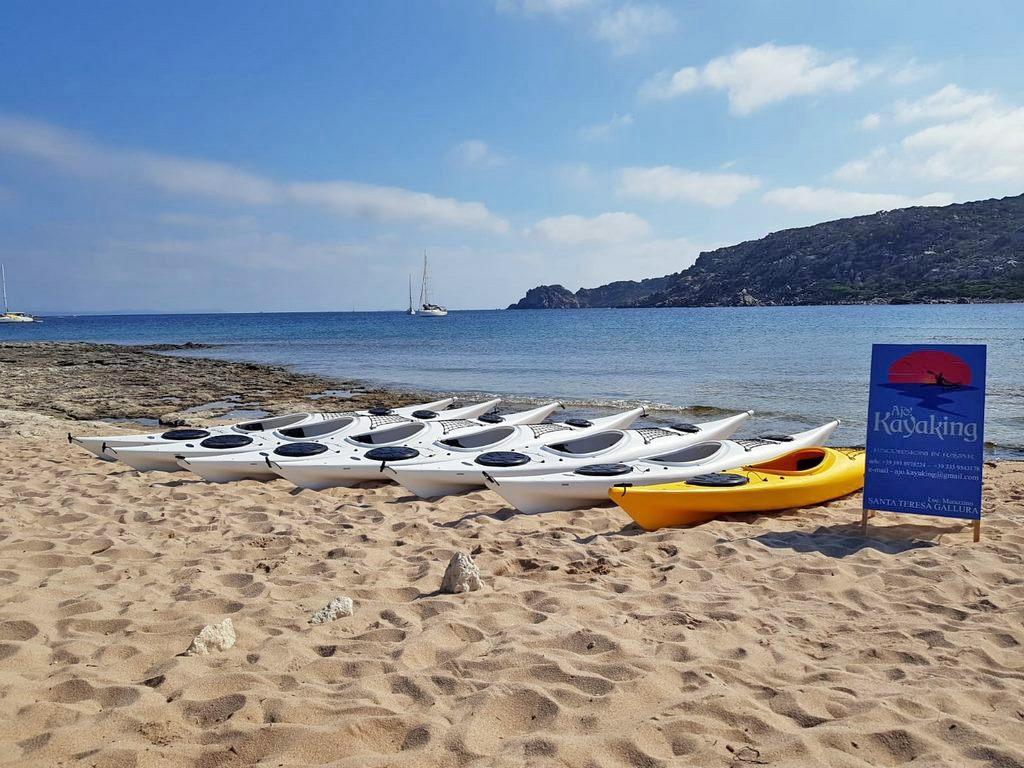 La flotta Ajò Kayaking