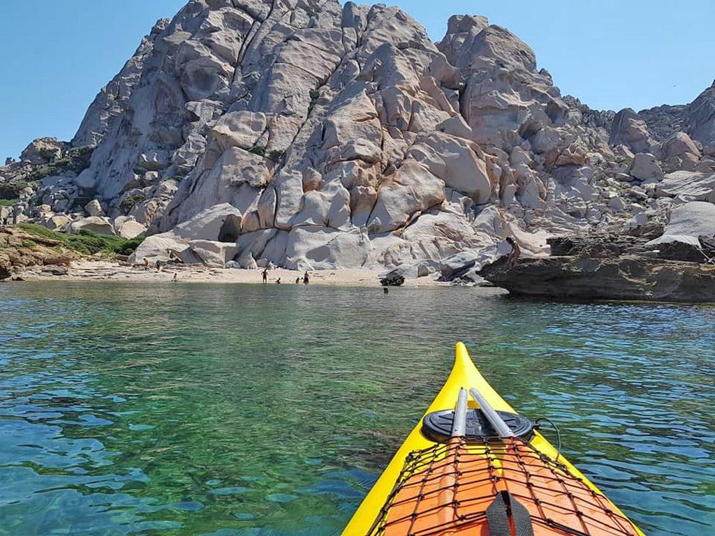 On board Ajò Kayaking