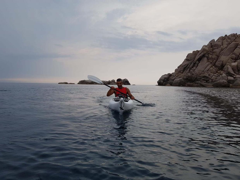 Ajò Kayaking escursione al crepuscolo