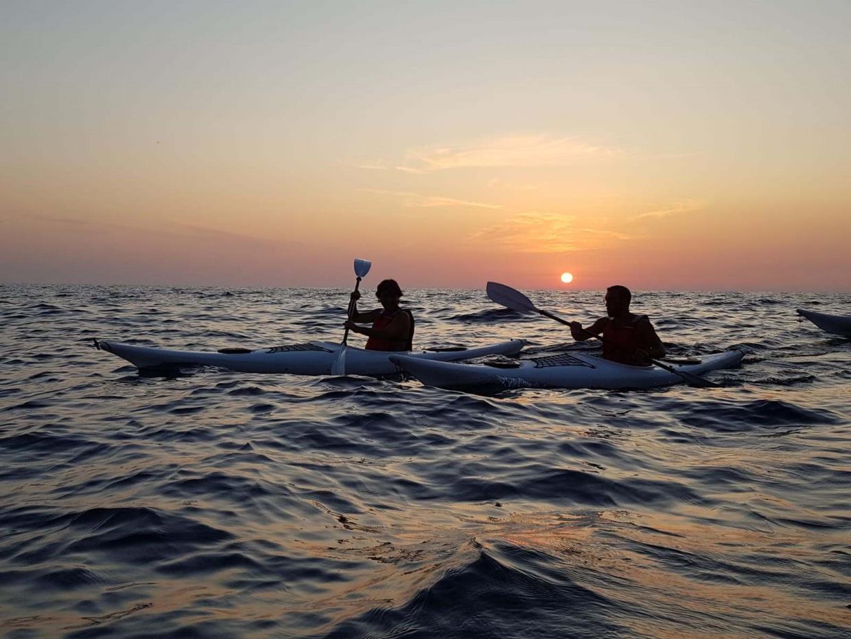 Ajò Kayaking, escursione al tramonto