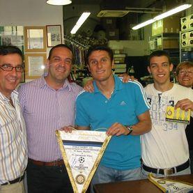 Javier Zanetti e La Nazionale Manifatture
