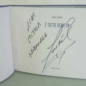 Dedica Javier Zanetti La Nazionale Manifatture