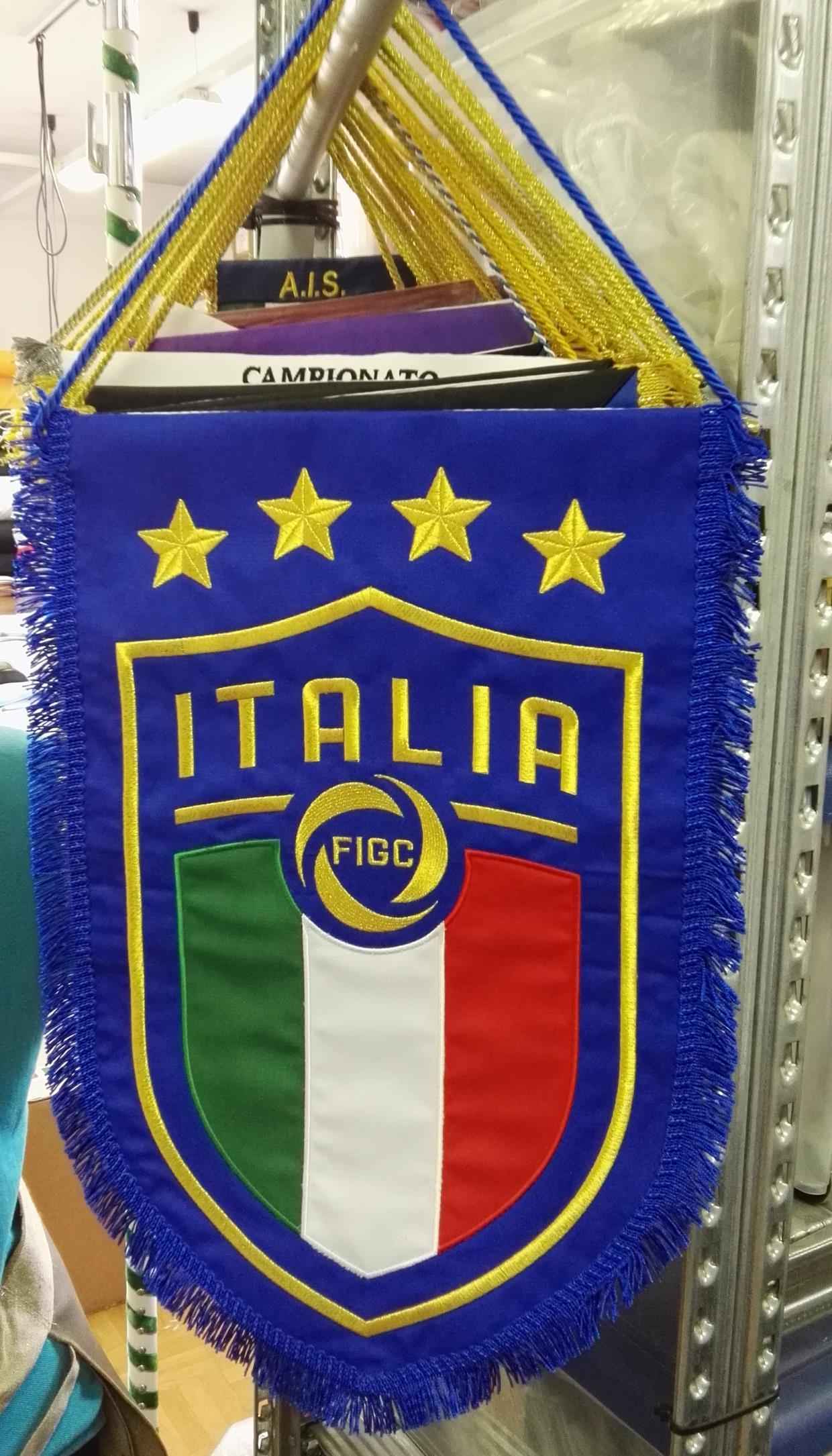 Gagliardetto Nazionale Italiana di Calcio Under 21 2019