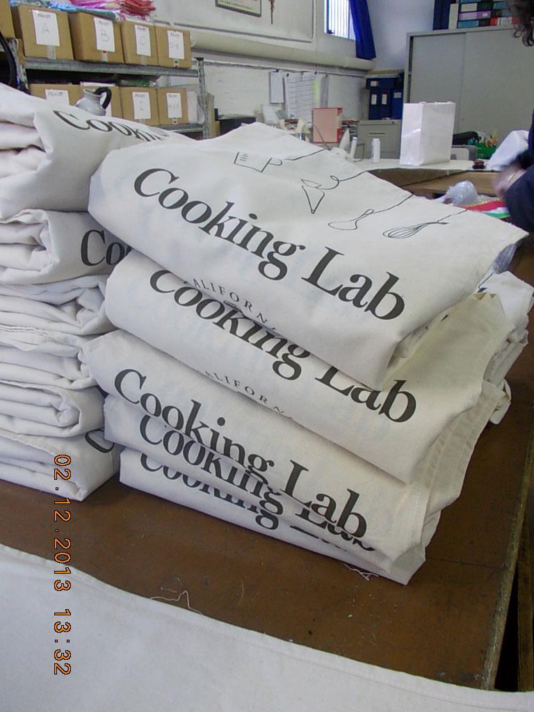 Abbigliamento cuoco grembiule Cooking Lab