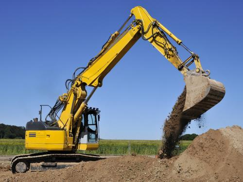 Movimento terra e scavi Impresa Edile Vertullo Daniele