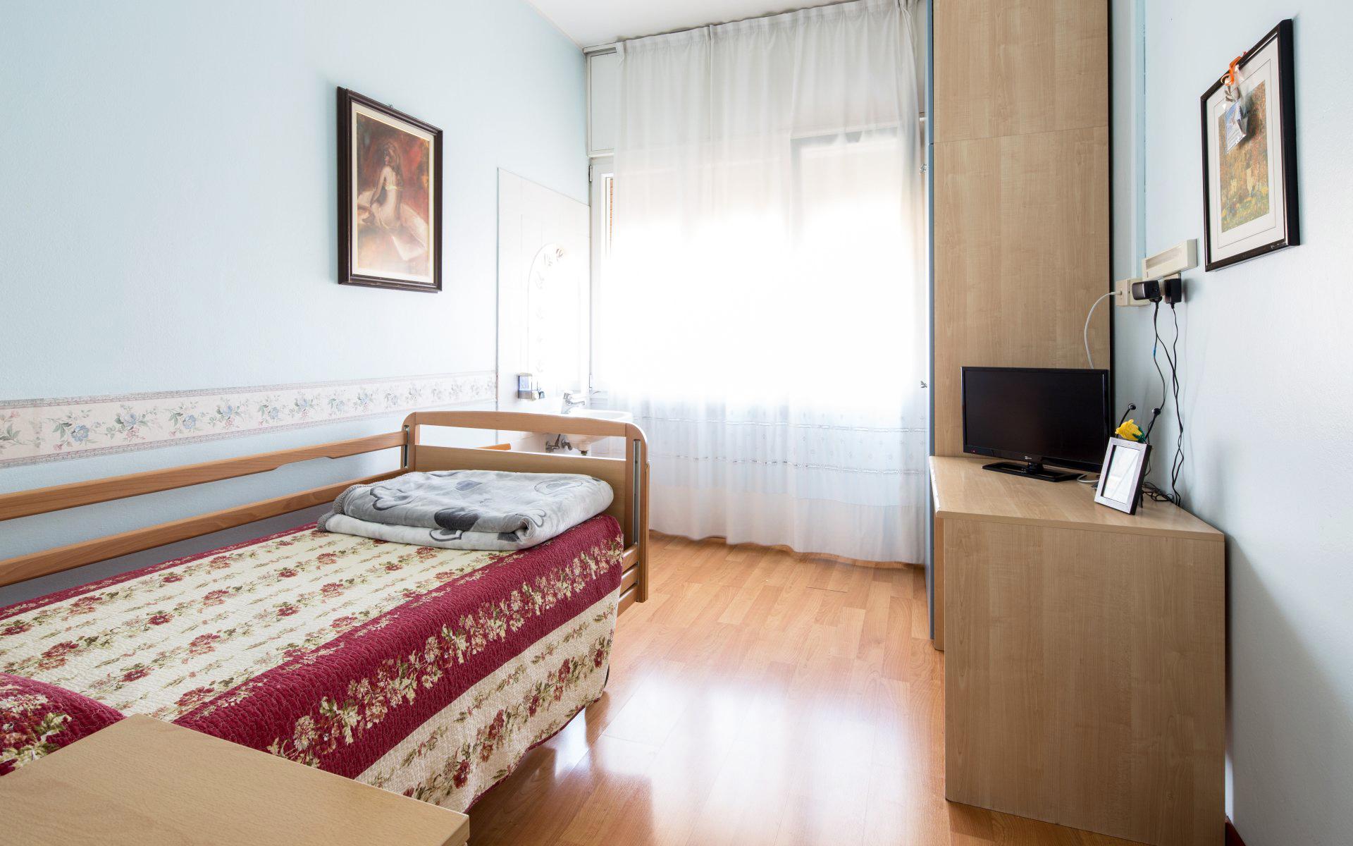 Villa dei Cedri camere climatizzate per anziani