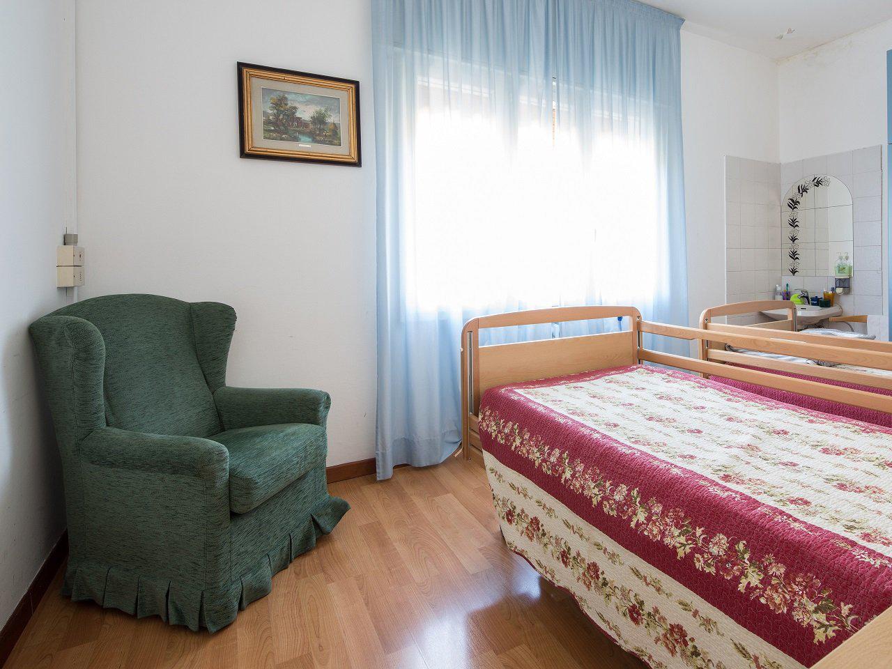 Camere climatizzate casa di riposo Villa dei Cedri