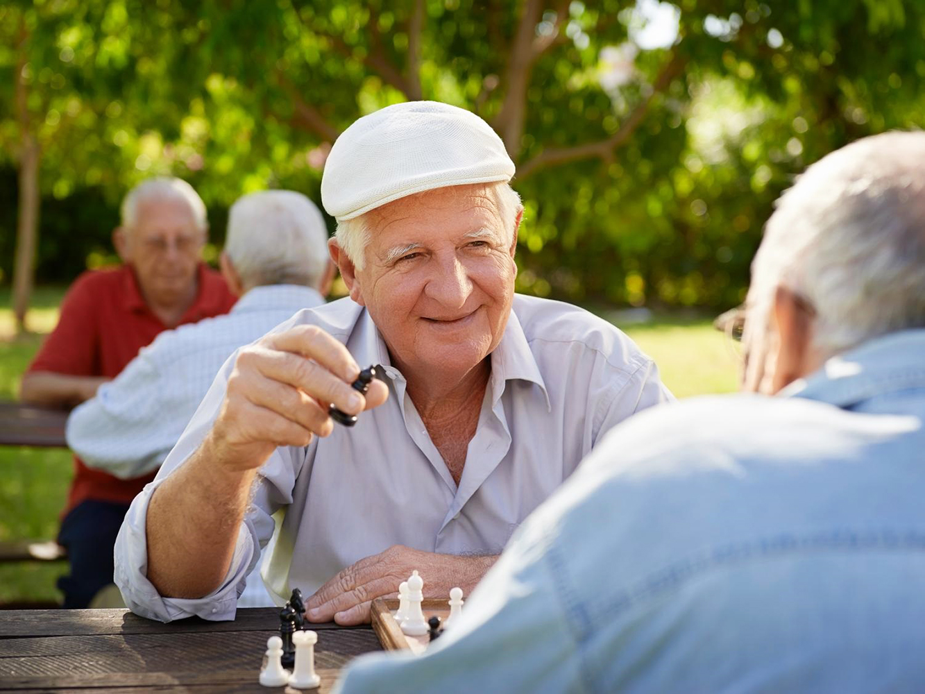 Attività ricreative per anziani Villa dei Cedri