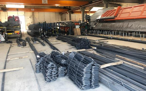 Realizzazione gabbie di armatura