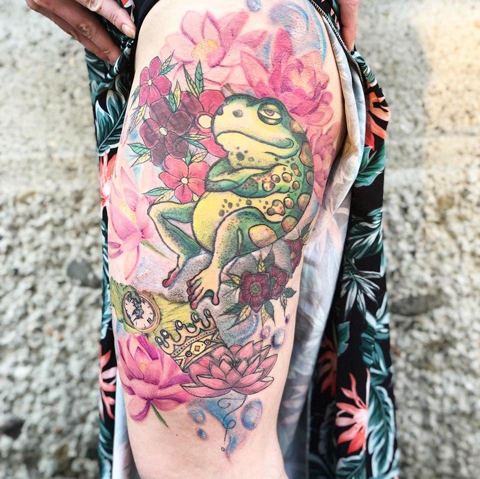 Tatuaggi personalizzati Namaste Ink
