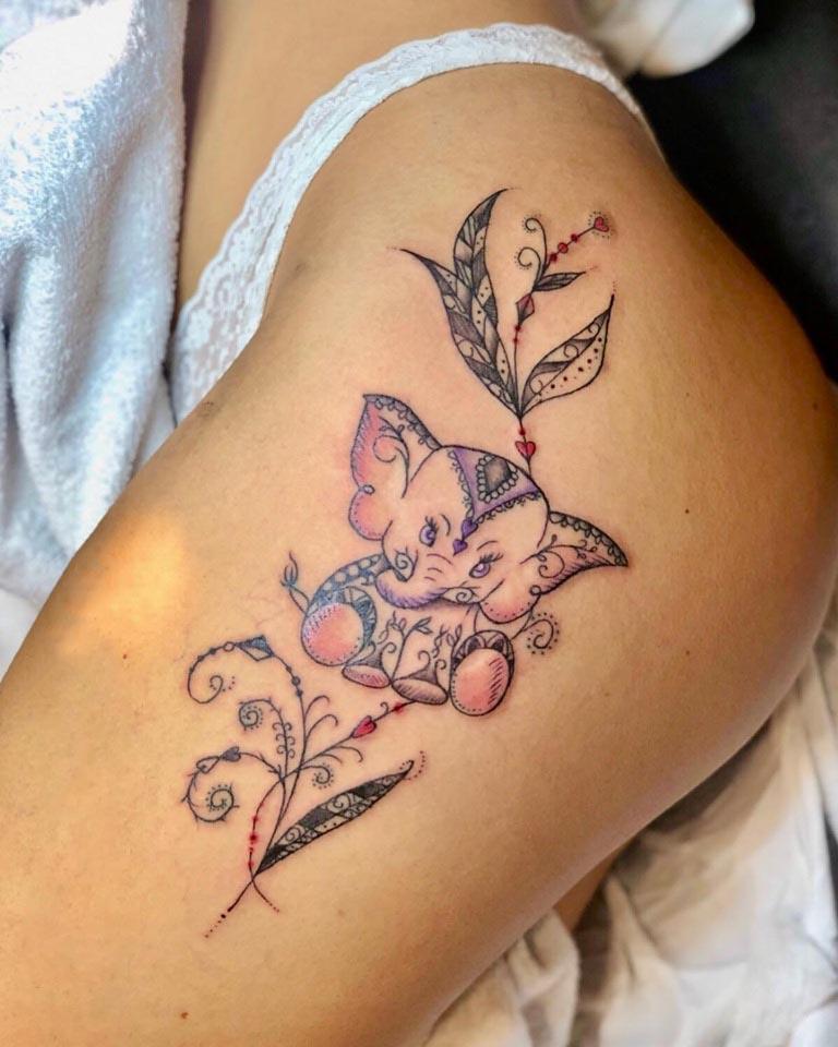 Tatuaggi su misura Namaste Ink