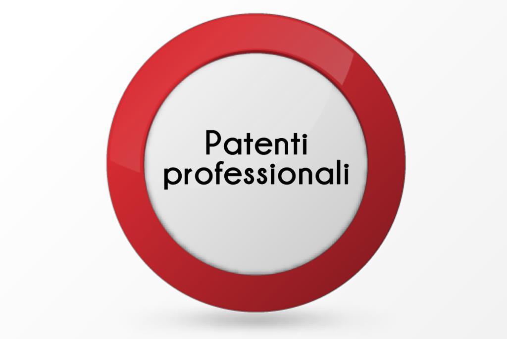 patente professionale rieti