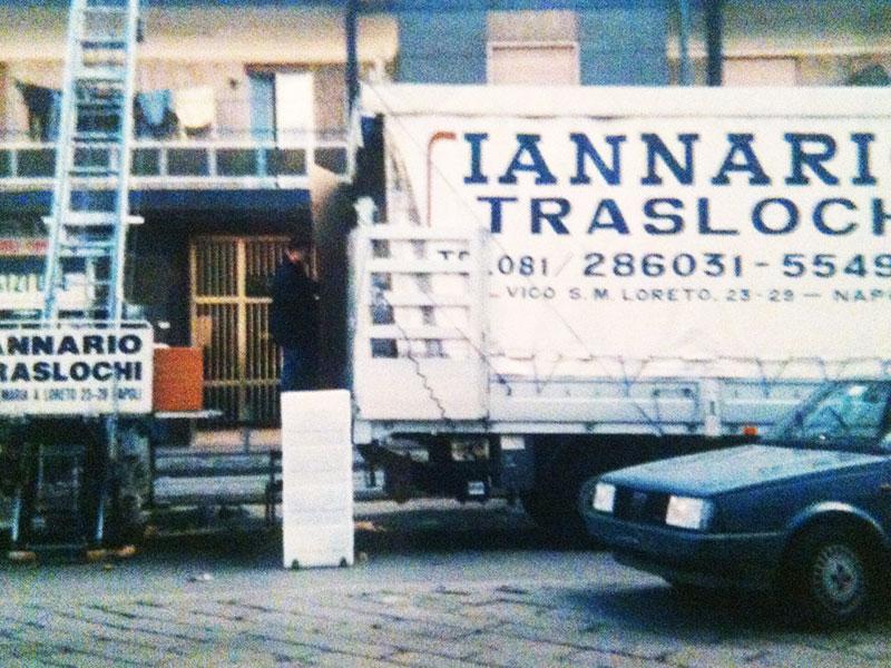 Servizio noleggio mezzi traslochi con conducente  Iannario Traslochi