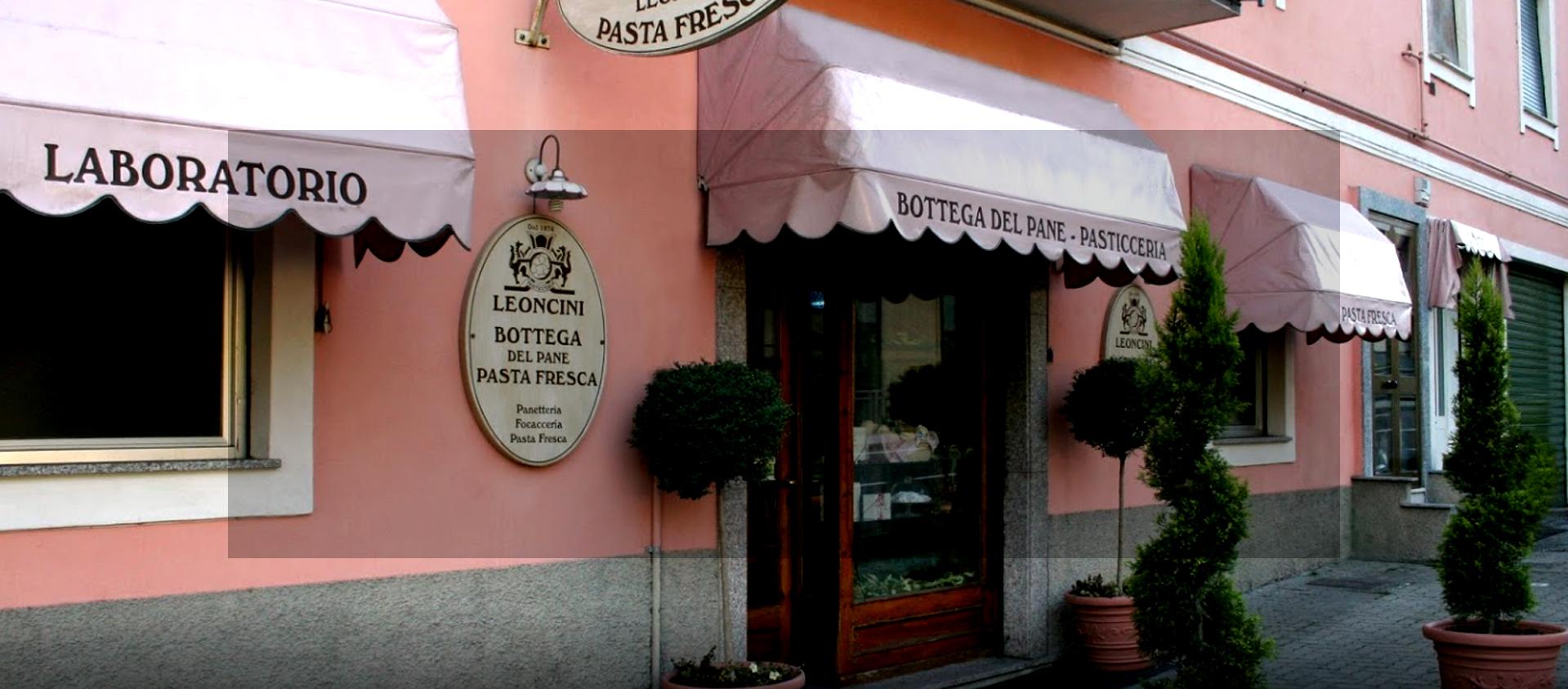 Pane casereccio e pasta presca Leoncini Pasticceria