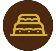 Produzione torte per eventi Leoncini Pasticceria