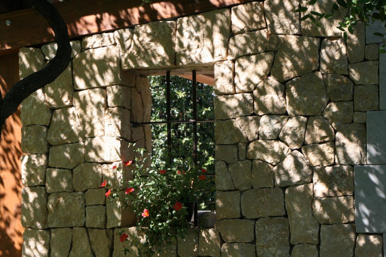Parete in pietra naturale F.lli Boscaini