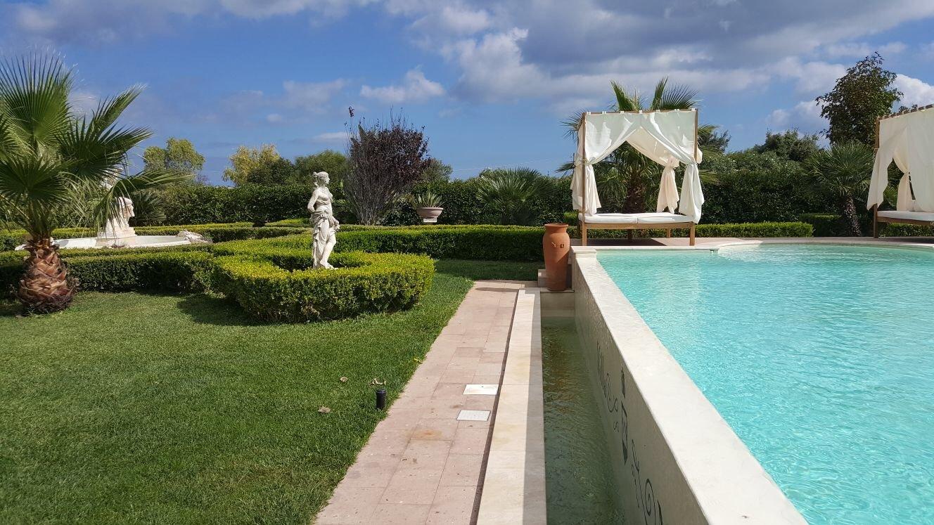 villa con piscina cerimonie