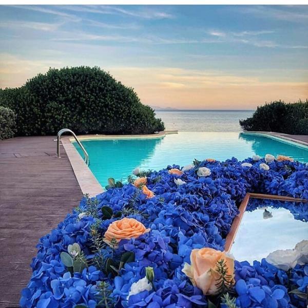 Fiorita Boutique de Fleurs - addobbo floreale piscina