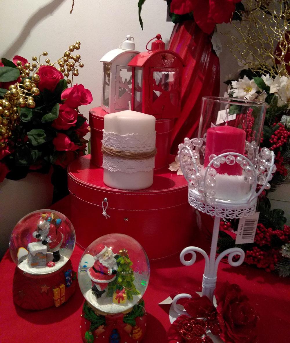 Candele di Natale Regine di Fiori