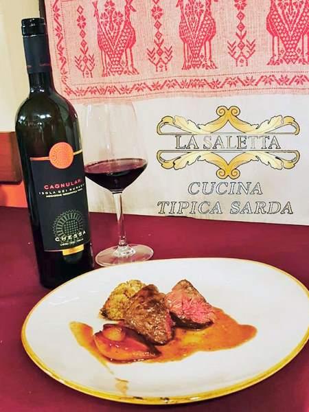 vino e piatti Alghero