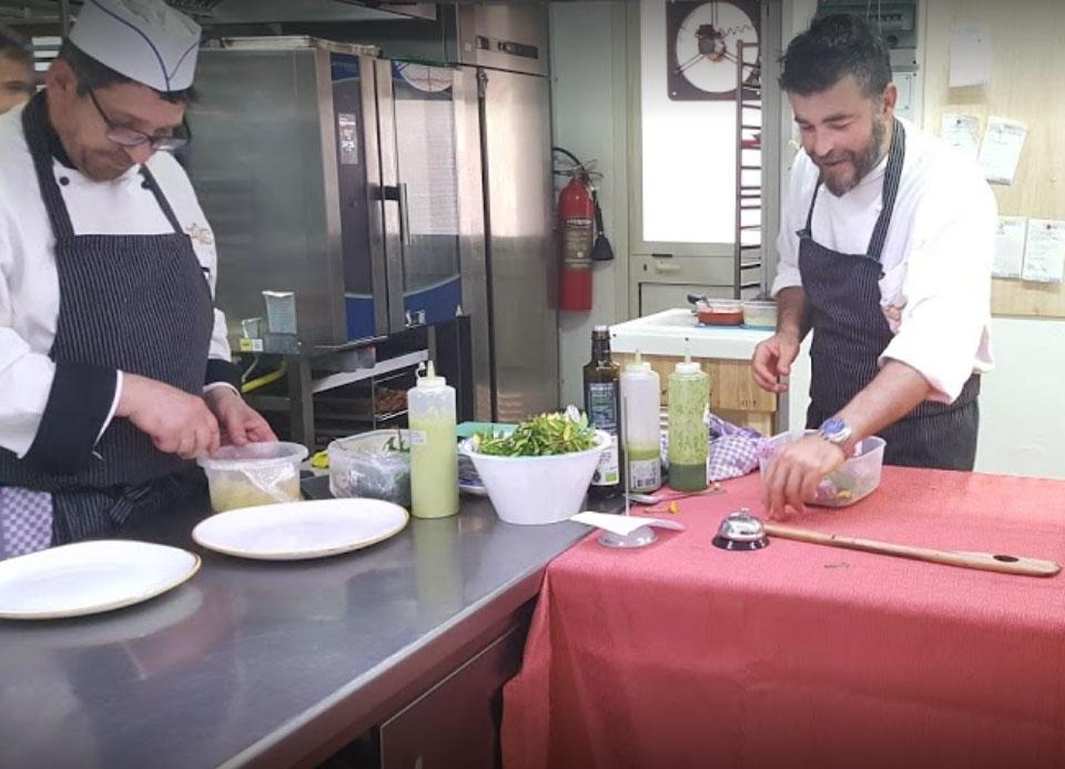chef dalla Saletta