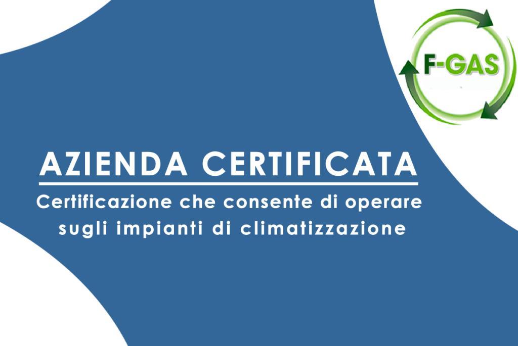 installatori certificati F-Gas