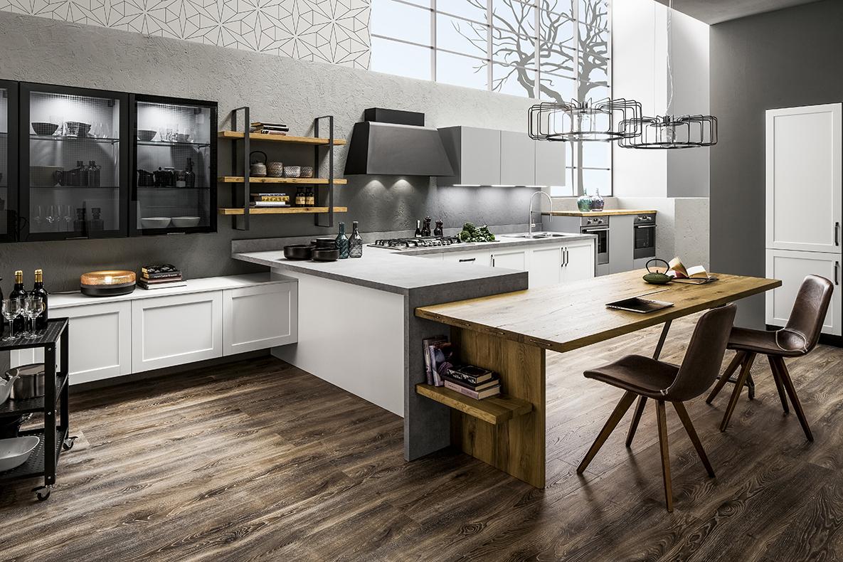 Cucina moderna Arrex modello Dallas