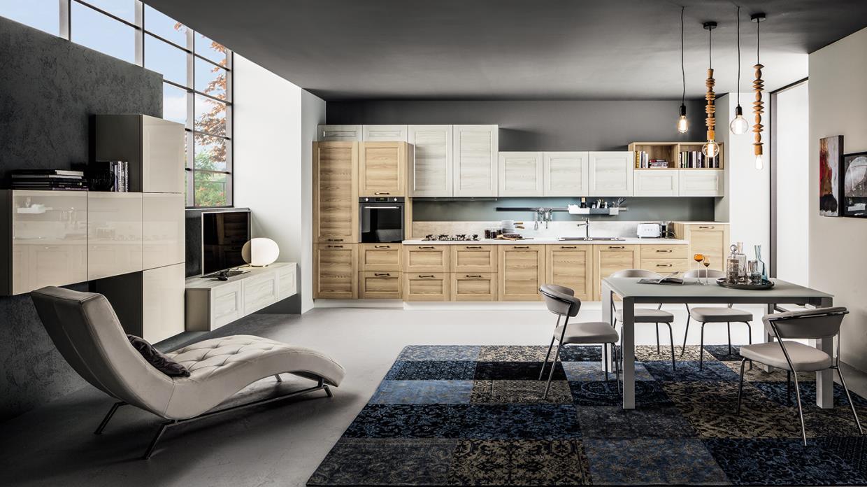 Cucina Arrex linea moderna modello Fiorella