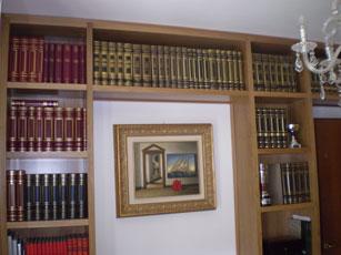 Librerie in legno Falegnameria Moderna