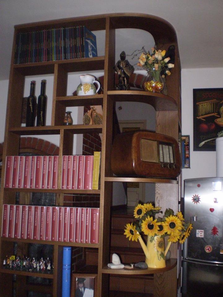 Vendita librerie in legno