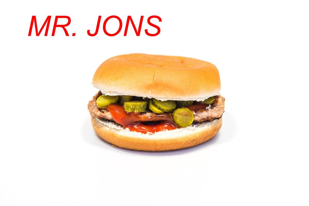 Panino Mr. Jons Sama's Burger
