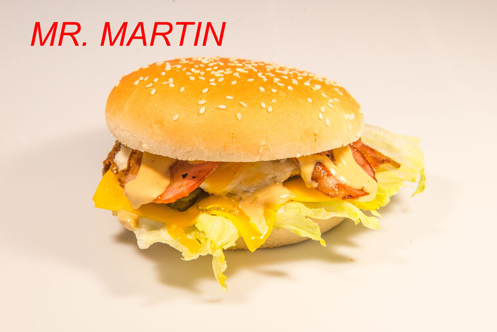 Panino Mr. Martin Sama's Burger