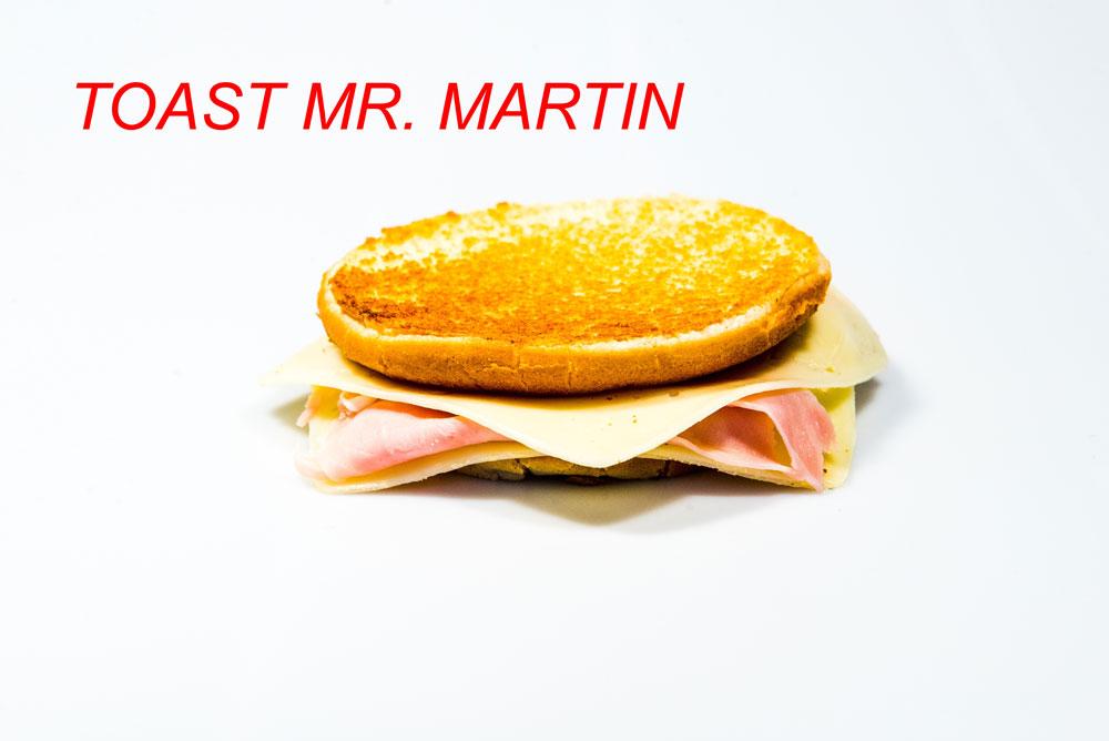 Toast Mr. Martin