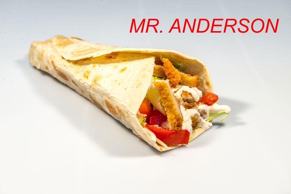 Panino Mr. Anderson Sama's Burger