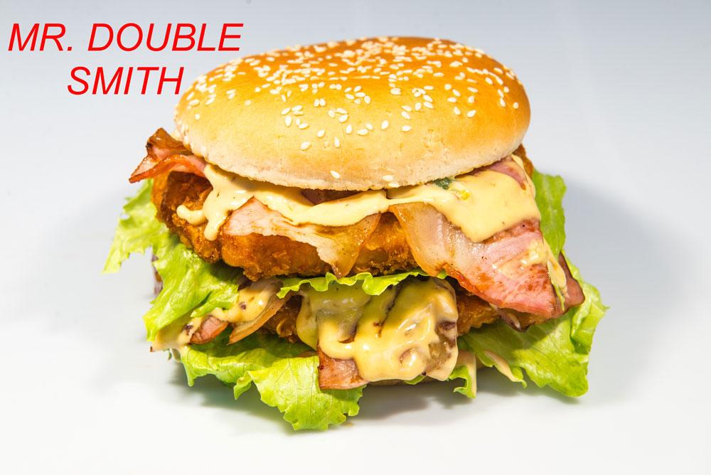 Panino Mr. Double Smith Sama's Burger