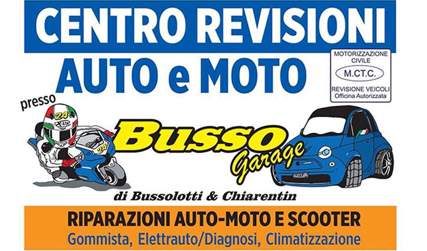 Busso Garage Centro revisioni auto moto e 3 ruote