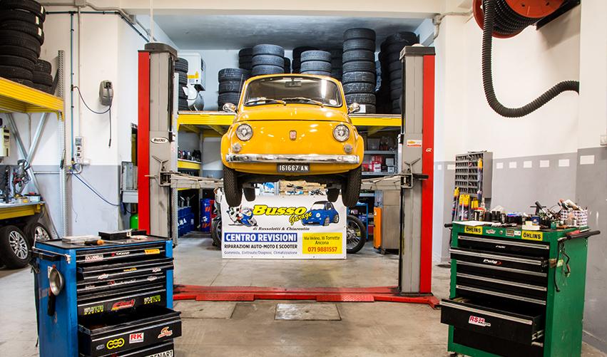 riparazioni auto e moto Busso Garage