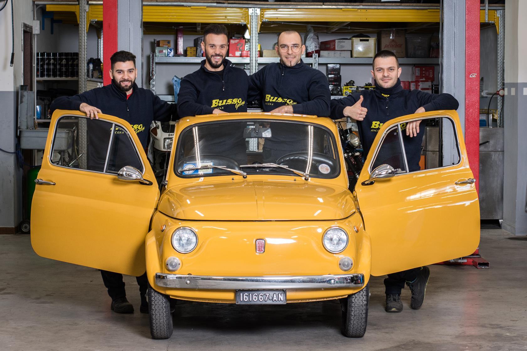 Busso Garage ad Ancona