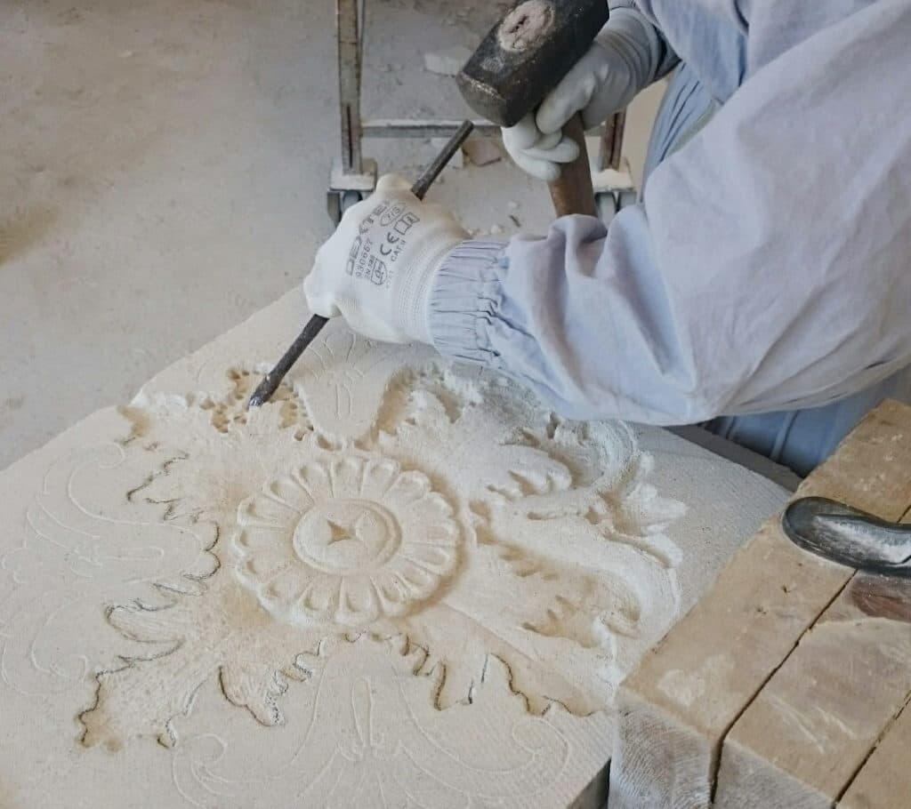 lavorazione marmo Torgiano Perugia