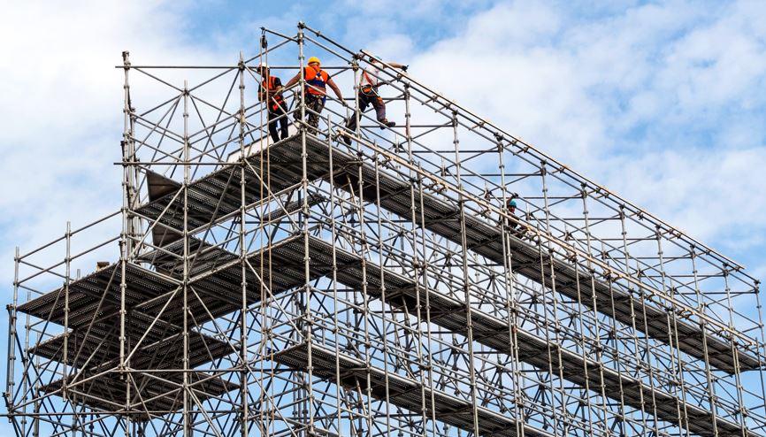 Realizzazione ponteggi edili Nova Coperture Edil