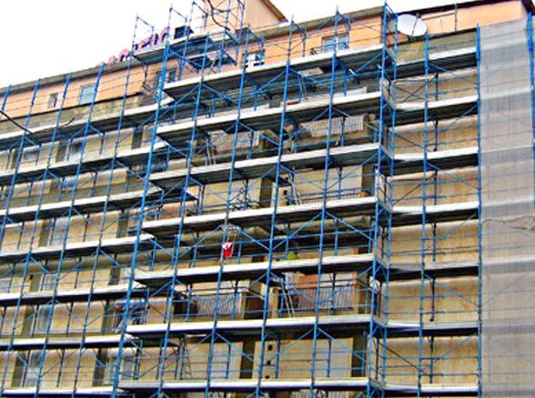 Progettazione ponteggi per lavori edili