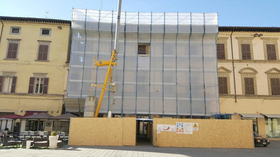 Realizzazione ponteggi per edilizi Nova Coperture Edil