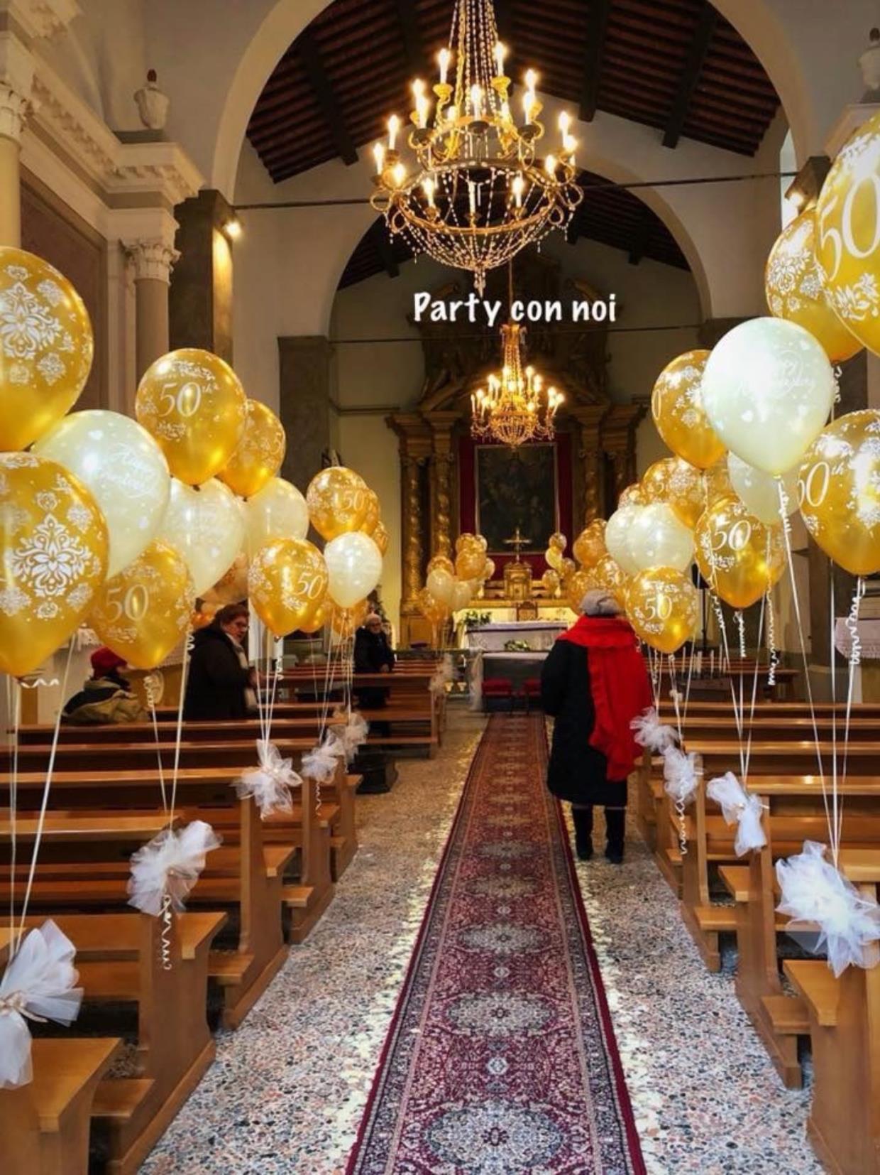 Allestimento chiesa